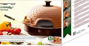 Le four à pizza Emerio n'est pas comme les autres