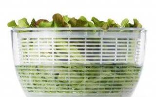 Un égouttoir qui peut accueillir toutes vos salade