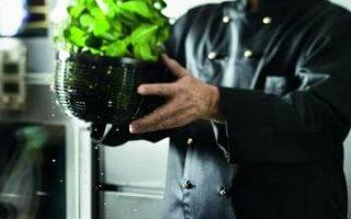 L'égouttoir de l'essoreuse à salade Rösle nous bluffe par son efficacité