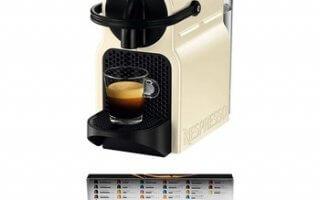 Dégustez un délicieux café avec votre cafetière à capsules Delonghi Inissia 203550