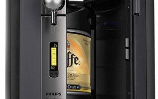 L'ouverture latérale de la tireuse à biere Philips PerfectDraft HD3720
