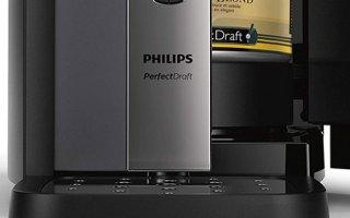 Solide, on est fan du plateau égouttoir de la tireuse à biere Philips PerfectDraft HD3720