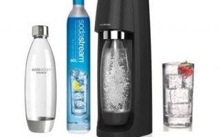 Le pack complet de la machine a gazefier Sodastream Spiritnfuse