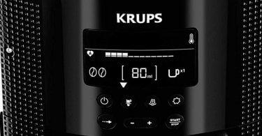 Notre avis sur la cafetiere a grains Krups YY8135FD