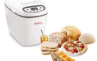 Les programmes de la machine a pain Moulinex Home Bread Baguette OW610110 sont extraordinaires