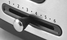 Contrôlez la température du grille pain Riviera et Bar GP540A