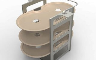 L'accessoire innovant de la machine a pain Riviera and Bar Bread and Bagel QD794A