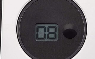 Le minuteur de la friteuse electrique Seb Filtra One Pro 4 FR518100
