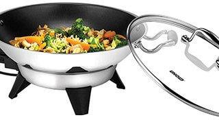 Voici le wok Unold Edel 48736 rempli