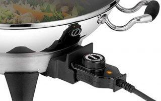 Le thermostat du wok Unold Edel 48736