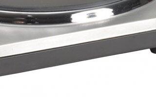 Utilisez la molette du rechaud electrique Kitchen Chef HP102-T10