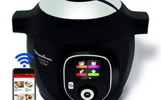 Il est génial le multicuiseur connecté Moulinex Cookeo+ Connect 200 recettes CE857800