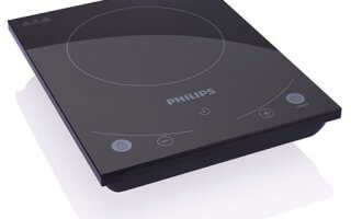 Le rechaud à induction Philips HD4933/40 a une taille de guepe