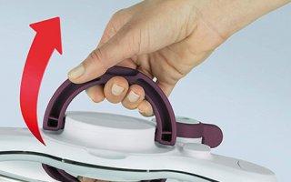 Voici la poignée de l'autocuiseur Seb ClipsoMinut' Duo P4605100