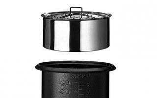 Zoom sur la composition de votre ice cooker Cuisinart CRC400E