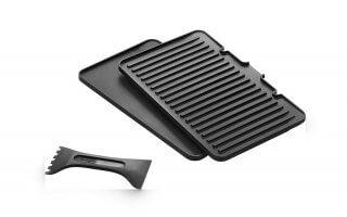 On adore les accessoires du grill de table Delonghi MULTIGRILL CGH1012D