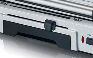 Apprenez à diriger la molette du grill de table Severin Automatic Grill KG 2392