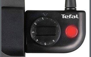 Facile à controler le thermostat de la plancha Tefal CB660301