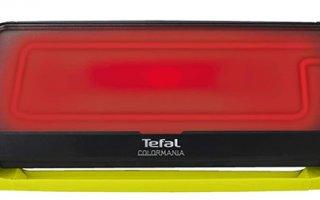 Qu'est ce que le thermo-spot de la plancha Tefal Colormania CB660301