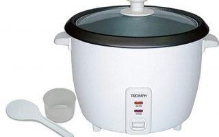 Un look épuré pour le rice cooker Triomph ETF1408