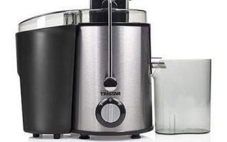 Comprendre l'usage dela centrifugeuse Tristar SC-2284