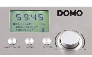 Voici l'écran digital de votre turbine à glace Domo DO 9201