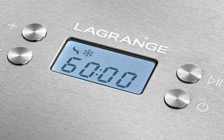 Voici le fabuleux écran digital de votre la turbine à glace Lagrange Creativ' 419010