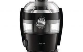 La forme de centrifugeuse Philips Quickclean HR1832/00 est originale